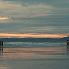 Walk on the beach by Neilm