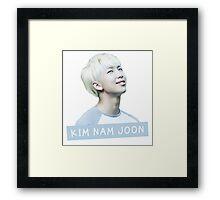 Kim Nam Joon Framed Print