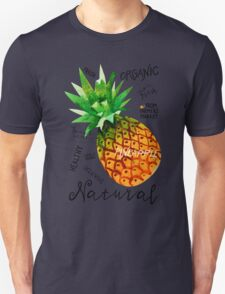 Watercolor pineapple Unisex T-Shirt
