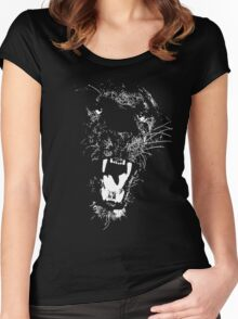 BLACK PANTHER Women's Fitted Scoop T-Shirt