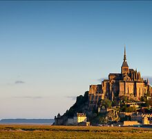 Mont Saint-Michel by Trevis Thomas