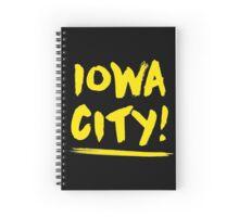 Grungy Iowa City Spiral Notebook