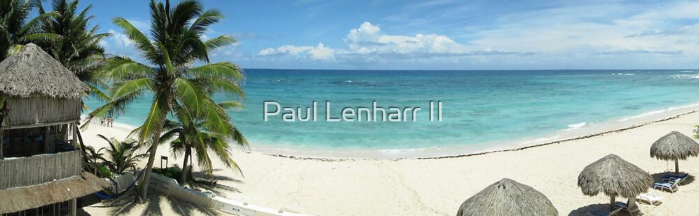 Day on the beach - Akumal, Mexico by Paul Lenharr II