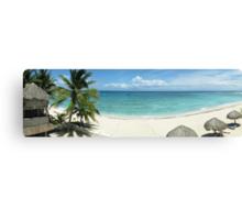 Day on the beach - Akumal, Mexico Canvas Print