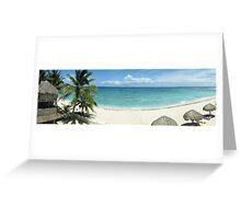 Day on the beach - Akumal, Mexico Greeting Card