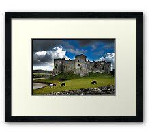 Disaster Castles Framed Print