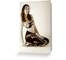 Is that Dorothy Lamour?? Greeting Card