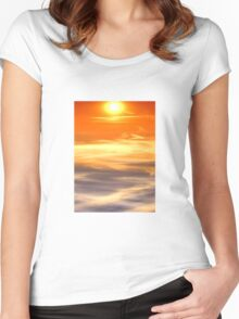 Vivid  Women's Fitted Scoop T-Shirt