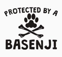 Protected By A Basenji Kids Clothes