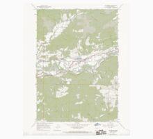 USGS Topo Map Oregon Walterville 281998 1967 24000 Baby Tee