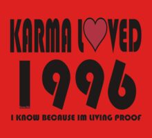 karma loved 1996 Kids Clothes