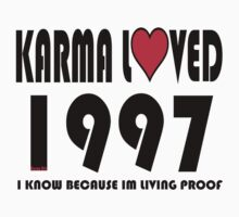 karma loved 1997 Kids Clothes