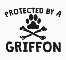 Protected By A Griffon Kids Clothes