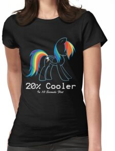 20% Cooler Womens Fitted T-Shirt