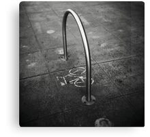 Bike Stand Canvas Print