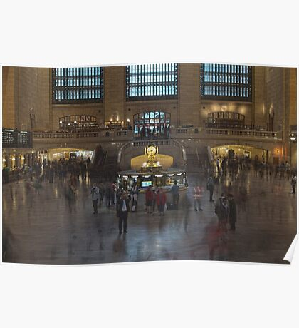 Grand Central Station in Motion Poster