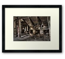 Abandoned Bradmill Textile Factory Framed Print