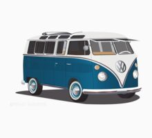 VW Bus T2 Turkis  by Frank Schuster