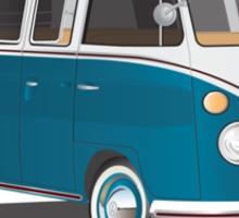 VW Bus T2 Turkis Sticker