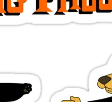 Do You Know Kung Phooey? Sticker