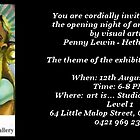 Angel Exhibition by Penny Lewin - Hetherington