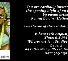 Angel Exhibition by Penny Hetherington