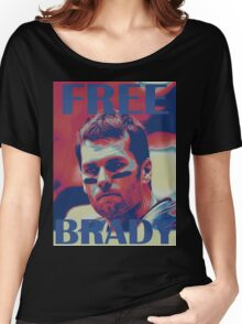 FREE BRADY Women's Relaxed Fit T-Shirt