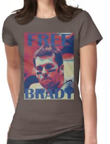 FREE BRADY Womens Fitted T-Shirt