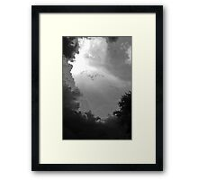 Gathering Gloom Framed Print