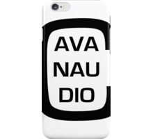 cavanaudio - eye chart iPhone Case/Skin