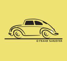 VW Beetle Bug Speedy Blk Kids Clothes