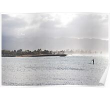 Hawaii Water Scene Poster