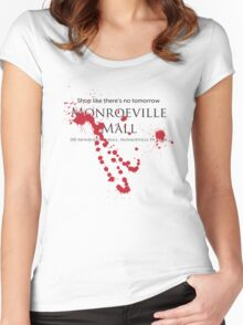 Monroeville Mall 2 Women's Fitted Scoop T-Shirt