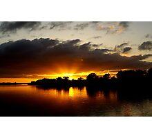 Sunrise at Mannum Photographic Print