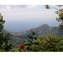 Paradise in the mountains Photographic Print