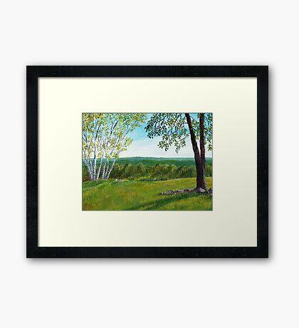 Holt Hill Framed Print