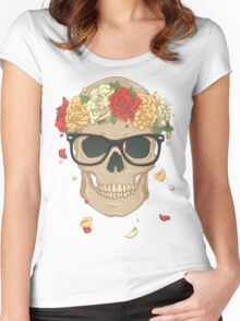 New Age Memento Mori Women's Fitted Scoop T-Shirt