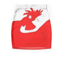 little red rooster Mini Skirt