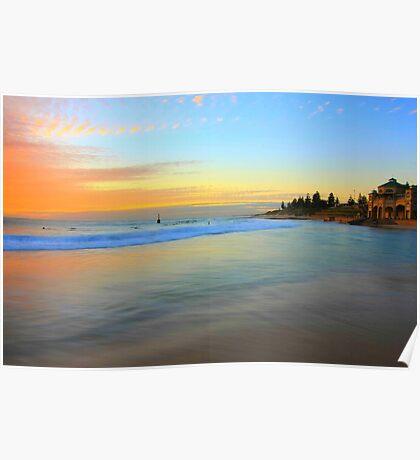 Pastel Seascape Poster