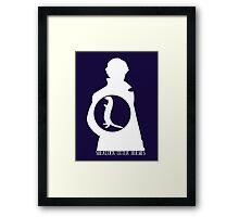 Sherlock Otter Holmes Framed Print