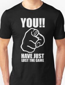 You Have Just Lost The Game  Funny Computer Internet Humour T-Shirt