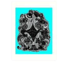 Chrystal House of Flowers Art Print