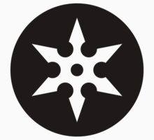 Ninja Shuriken Ideology One Piece - Long Sleeve