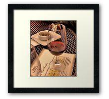 Pinot Framed Print