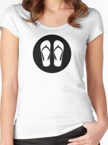 Chillax Ideology Women's Fitted Scoop T-Shirt