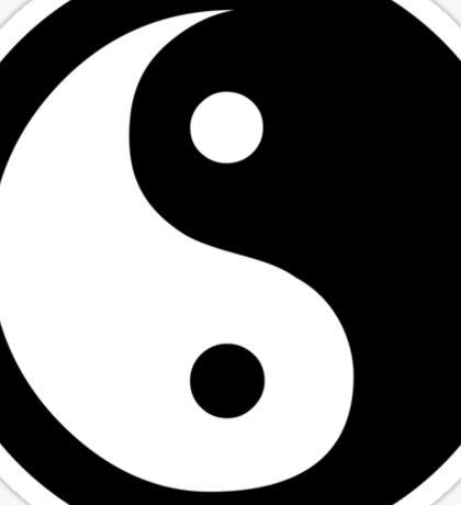 Yin Yang Ideology Sticker