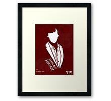 Sherlock Holmes Framed Print
