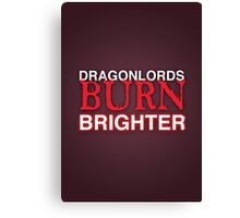 Dragon Lord Poster 1 Canvas Print
