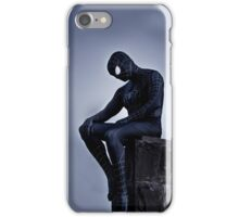 Black Spider-Man iPhone Case/Skin