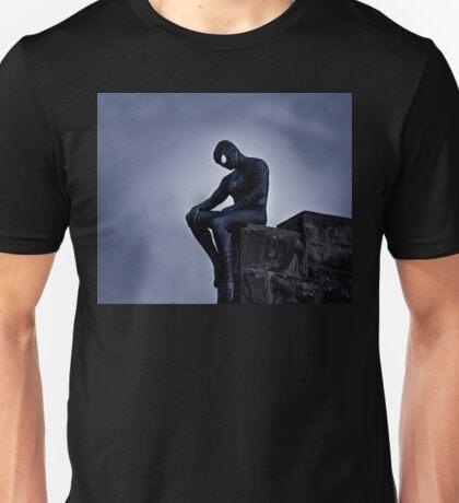 Black Spider-Man Unisex T-Shirt